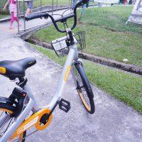 シンガポール レンタル自転車 OBIKE