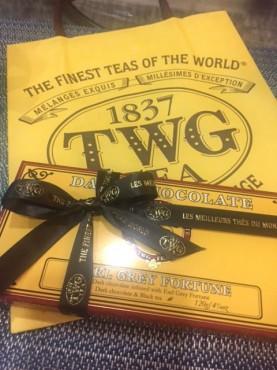 シンガポール TWG チョコレート