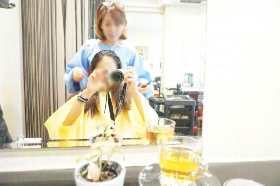 impression シンガポール ローカル美容院 キャリーさん
