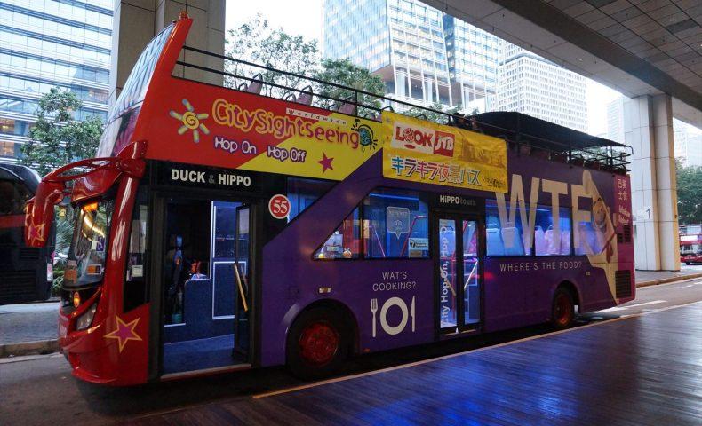クリスマスイルミネーションバスツアー オープントップバス