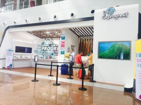 ブルネイ空港 SIM
