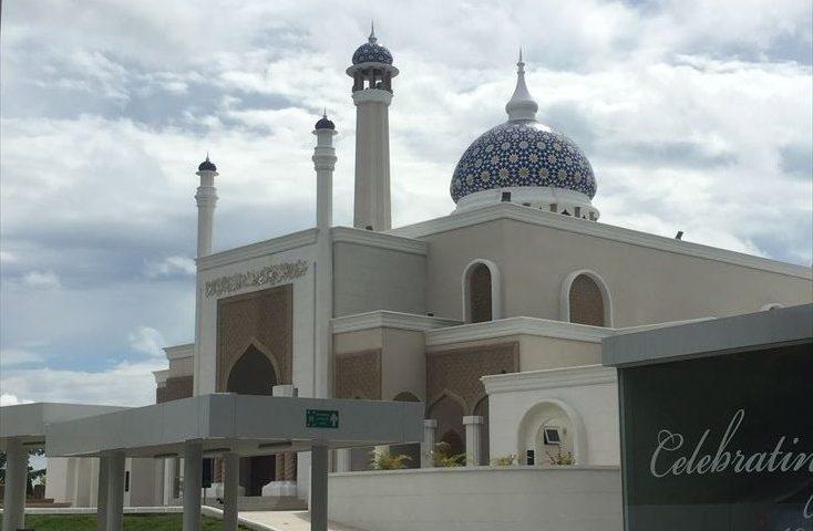 ブルネイ空港 モスク