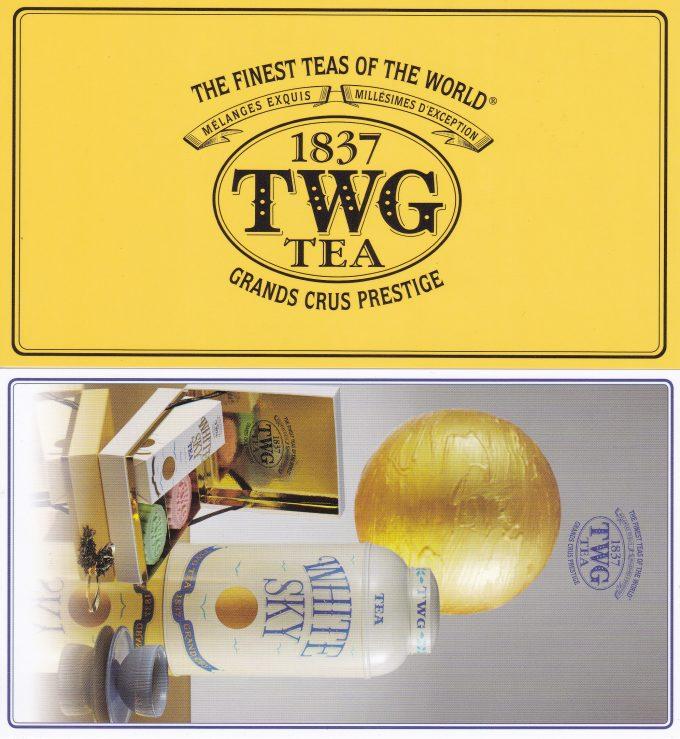 TWGシンガポール ポストカード